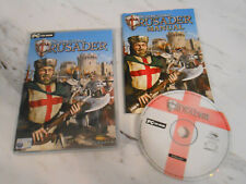 STRONGHOLD CRUSADER ~ (PC CD-ROM) ~ VGC, COMPLETE & FULLY TESTED ~