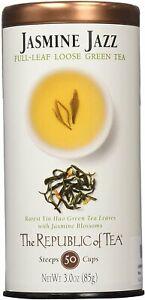 Jasmine Jazz Tea by The Republic of Tea, 3 oz full leaf