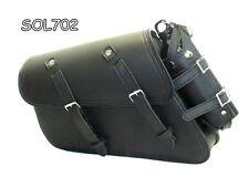 MOTORCYCLE Solo SaddleBag SIDE BAG  For Harley Davidson Sportster 1200 C Custom