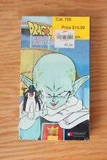 Dragon Ball Z - Garlic Jr. Black Water Mist SEALED SHRINK WRAP VHS, 2000, Dubbed