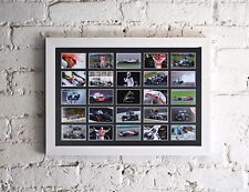 SIGNED LEWIS HAMILTON 25 IMAGE MULTI WORLD CHAMPION TRIBUTE PRESENTATION