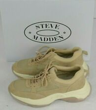 Steve Madden Women's Yachi Movement Athletic Shoes Sneakers 8.5 Beige