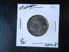 2004 P, Michigan State Quarter  BU from mint roll (1 coin)