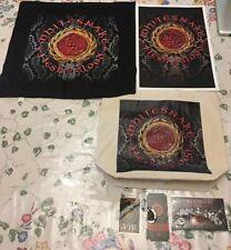 Whitesnake Flesh & Blood World Tour Vip Swag Signed Lithograph David Coverdale