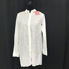 NWT Cabi Shirt Size Sm White Cotton Love Carol Collection Long Sleeve