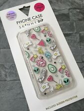 """SKINNY DIP """"WILD CARD"""" iPHONE X MOULDED CASE WITH SCREEN PROTECTOR BNIB"""