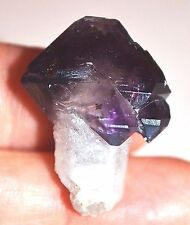 RARE African Quartz Crystal SCEPTER With Amethyst Head From Madagascar, Africa