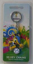 Fuleco Mascot PVC 2014 Brazil World Cup keychain