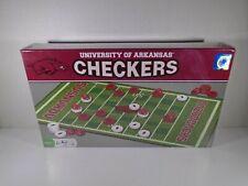 UNIVERSITY OF ARKANSAS RAZORBACKS CHECKERS GAME (NEW)