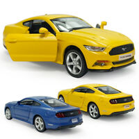 1:36 Scale Ford Mustang 2015 Model Car Diecast Gift Toy Vehicle Kids Pull Back
