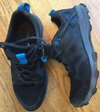 MENS ADIDAS KANADIA TR7 TRAIL RUNNING SHOES SNEAKERS BLACK SIZE 11 TRAXION