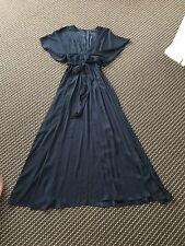 BNT Sheike Navy Blue Gorgeous Maxi Dress Size 6 RRP $179
