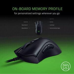 Razer DeathAdder V2 Wired Optical Gaming Mouse - Black