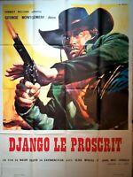 Plakat Kino Western Django Le Outcast - 120 X 160 CM