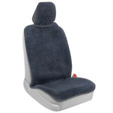 Bdk UltraFit Waterproof Towel Car Seat Cover for Front Seat, Gray Trim