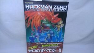 Doujinshi Rockman Megaman ZERO OFFICIAL COMPLETE WORKS Art Book w/OBI