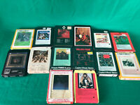 Vintage 8-track Rock Lot Rolling Stones Beatles Jackson 5 Neil Diamond Cash