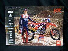 Ken Roczen Motocross Autographed 13x19 Poster.