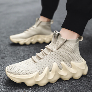 Men's Breathable Sneakers Athletic Outdoor Casual Sports Running Shoes Tennis