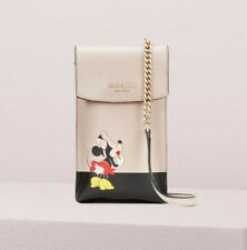 Kate Spade Disney x minnie mouse north south flap phone crossbody ~NWT~