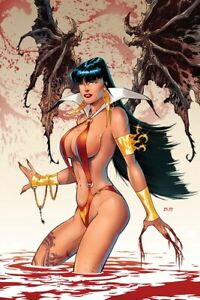 Vampirella #19 RB White Virgin Variant Cover Dynamite Entertainment (2021)