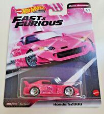 Hot Wheels Honda S2000 Pink #1 Fast & Furious - Quick Shifters 1/5