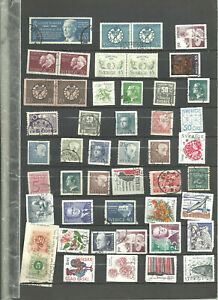 Stamps of Sweden Used large lot good variety excellent condition