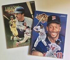 Legends Sports Memorabilia Magazine, Set of 11 Issues (1991-1993)