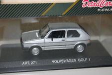 RARE DETAIL CARS MINICHAMPS VW GOLF MK1 GTI SERIES ONE SILVER MODEL CAR 1:43