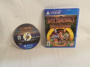 Sony PlayStation 4 PS4 Hotel Transylvania 3 Monsters Overboard Game Disc w/Box
