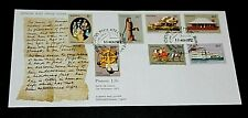 AUST 1972 PIONEER LIFE  SET OF 7 ISSUES  ON  A/POST FIRST DAY COVER  UNADDRESSED
