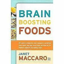 BRAIN BOOSTING FOODS - Lost Your Edge?  Learn How To Get Back Into Life