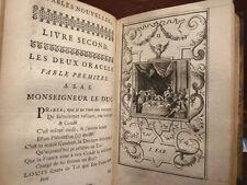 FAVOLE - De La Motte : Fables Nouvelles - Amsterdam 1727  99 Tavole Incisioni