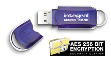 Integral 32GB Courier USB Stick with Secure Encryption.