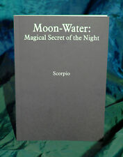 MOON - WATER BY SCORPIO  - Finbarr, White Magick Magic Grimoire, Wicca Spells