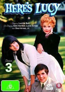 Here's Lucy : Season 3 (DVD, 2010, 4-Disc Set) BRAND NEW REGION 4