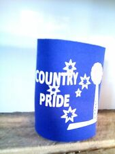 Country Pride purple stubby cooler bns b&s ute