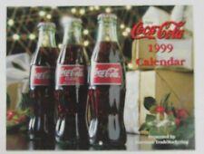 Coca-Cola 1999 Calendar - NEW  FREE SHIPPING