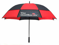 "GustBuster Pro Series Gold 62""  or 68"" Dual Canopy Windproof Umbrella"
