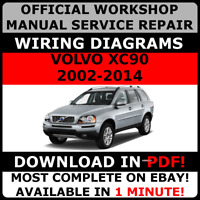 # OFFICIAL WORKSHOP Repair MANUAL for VOLVO XC90 2002-2014 WIRING #