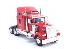 Welly 1:32 Kenworth W900 Semi Tractor Trailer Diecast Model Red New in Box