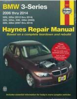 BMW 3-Series 320i 325i 328i 330i 2006 - 2014 Haynes Manual 18023 NEW