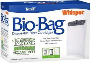Tetra Bio-Bag Filter Cartridges Medium,12-Pack