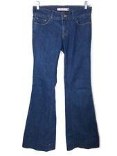 J Brand Lovestory Jeans Bell Bottom Flare Stretch Womens 27 Measures 30 x 32