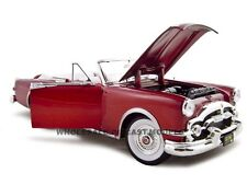 1953 PACKARD CARIBBEAN RED 1:18 DIECAST MODEL BY ROAD SIGNATURE 92798