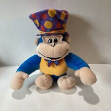 NANCO Monkey With Top Hat And Now Tie Blue Arms And Legs Yellow Stomach 2003