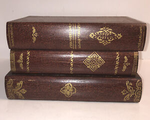 "Book Storage Box-Shaped like 3 books-Solid Wood- World Bazaars 5.5""Tall 9""Long"