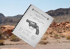 SMITH & WESSON .38 CHIEFS SPECIAL  Handgun Revolver Model 36 Manual
