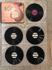 Vintage 1930's The Eddie Cantor 5 Record Book Album No. 5 Set