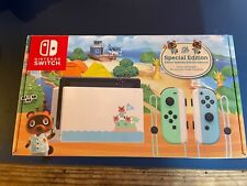 Nintendo Switch Animal Crossing Edition - used in box